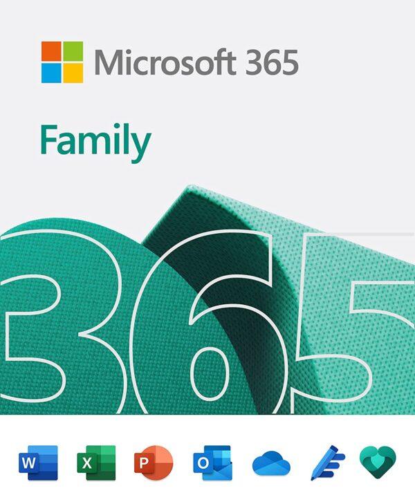 Microsoft 365 Family 6 people