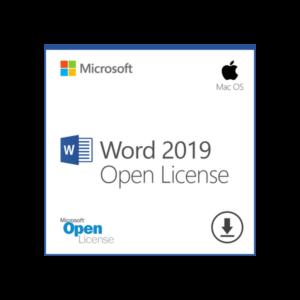 MS office 2019 for MAC OL